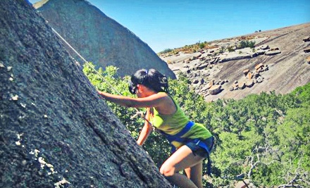 All-Day Outdoor Climbing Outing at Reimers Ranch on Sun., May 20 - Rock-About in Dripping Springs