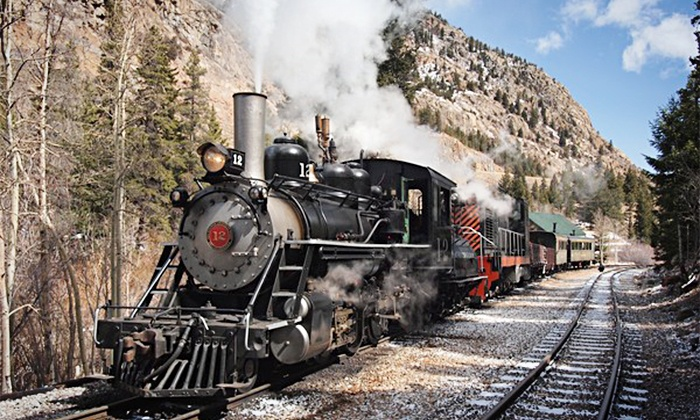 Historic Rail Adventures -  Georgetown Loop Railroad- Devil's Gate Depot : Holiday Locomotive Ride for One Adult and One Child at Historic Rail Adventures (49% Off)