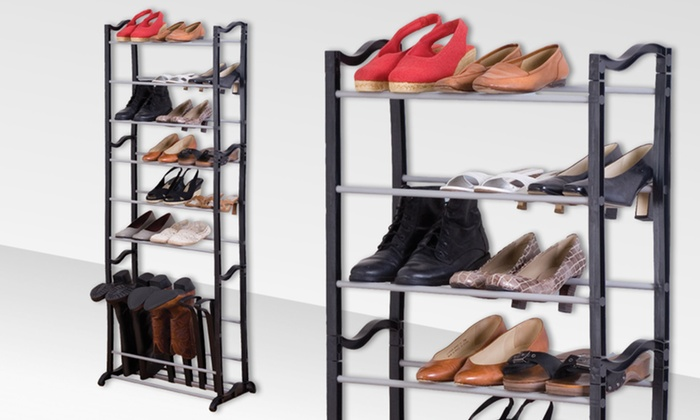 Standing Shoe and Boot Tower: Standing Shoe and Boot Tower. Free Returns.