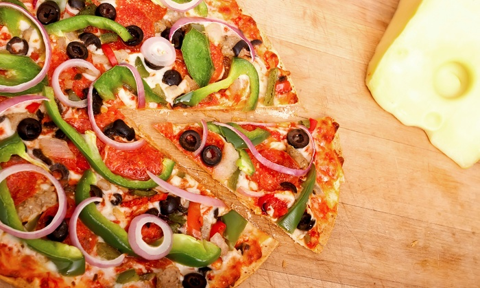 Johnny Brusco's Pizza - Lawrence: Pizza Meal for Two or Four at Johnny Brusco's Pizza (Up to 50% Off)