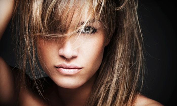 Styles by Nati - Far West Side: Haircut with Optional Partial Highlights, Single-Process Color, or Full Highlights at Styles by Nati (Up to 53% Off)