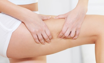 Dallas: Two or Four 20-Minute Cold-Laser Cellulite-Reduction and Vibration Sessions at DFW Laser Lipo (Up to 82% Off)