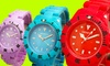 Geneva Men's and Women's Sport Watches: $7.99 for a Geneva Men's and Women's Sport Watch ($19.99 List Price). Multiple Colors Available. Free Returns.