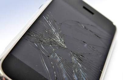 Glass Replacement for an Apple or Samsung Device at Sky Mobile (Up to 67% Off). Seven Options Available.