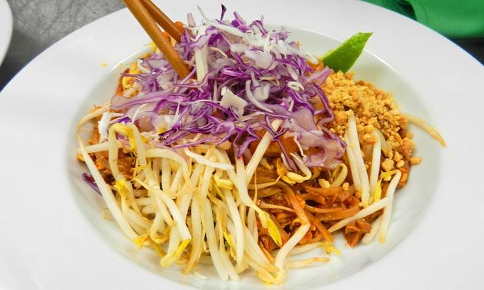 Naga Thai Kitchen - Victory Park: Thai Food at Naga Thai Kitchen (Up to 47% Off). Three Options Available.