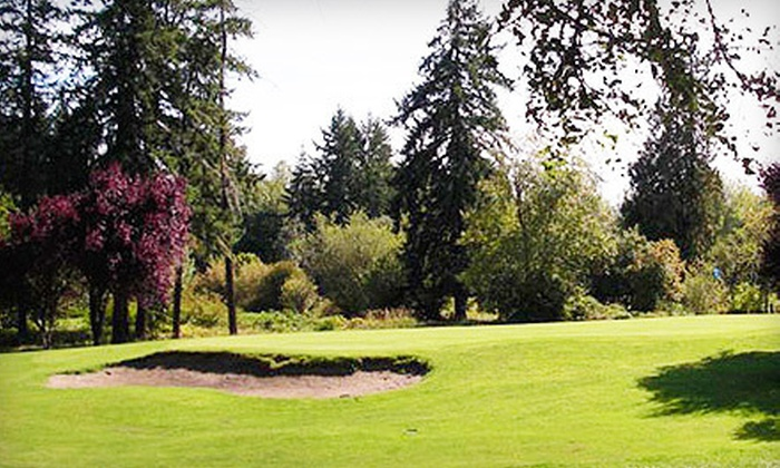 St. Helens Golf Course - St. Helens: Round of Golf with Cart Rental at St. Helens Golf Course in Warren (Up to 57% Off). Four Options Available.