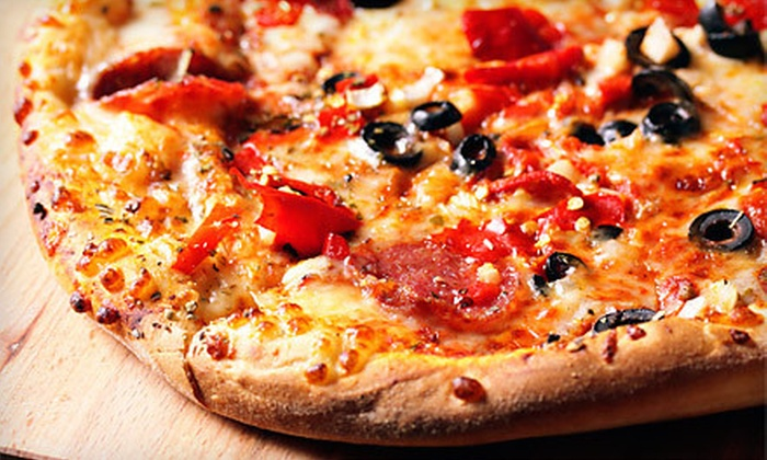Marco's Pizza - Multiple Locations: Pizzeria Cuisine at Marco's Pizza (Up to 53% Off). Two Options Available.