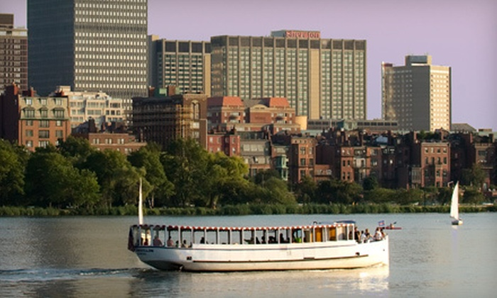 Cruise Boston - Beacon Hill: $30 for a Boston Society of Architects Architectural Sightseeing Cruise for Two from Cruise Boston (Up to $52.50 Value)