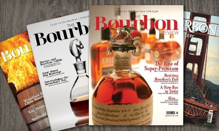 "The Bourbon Review: $7 for a Yearlong Subscription to ""The Bourbon Review"" Magazine ($14.99 Value)"