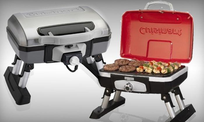 Cuisinart Tabletop Grill: Cuisinart Portable Tabletop Gas Grill Or  Cuisinart Outdoor Tabletop Electric Grill (