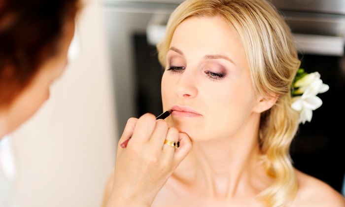 Lipstick and Lashes - San Clemente: $499 for a Bride-and-Bridesmaid Makeup Package with Eyelashes from Lipstick and Lashes ($1,000 Value)