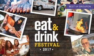 Eat And Drink Festival: Eat and Drink Festival: Two Tickets, 26–29 May at SEC, Glasgow (Up to 48% Off)