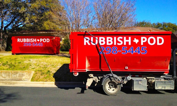 Rubbish Pod - Parkside At Slaughter Creek: $99 for 5 Cubic Yards of Junk Removal from Rubbish Pod ($200 Value)