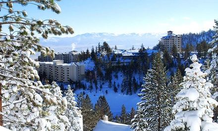 Stay at The Ridge Tahoe in Lake Tahoe, NV. Dates into April.