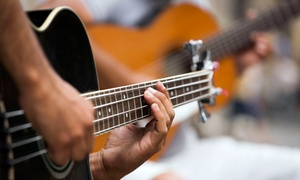 Corner Music: Three Private Guitar or Drum Lessons at Corner Music (54% Off)