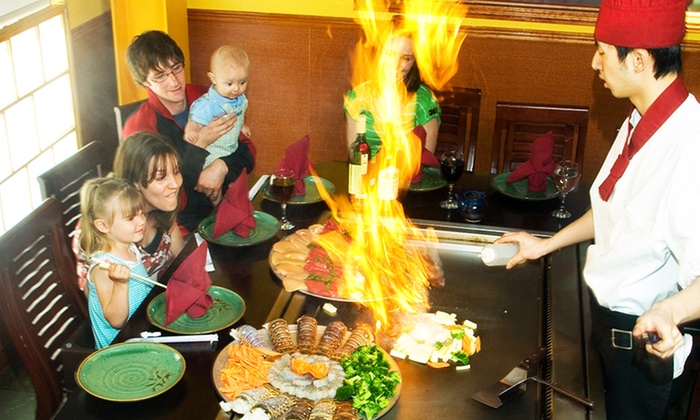 Fujiyama Hibachi & Sushi - Highlands Ranch: $17 for $30 Worth of Japanese Hibachi and Sushi for Two or More at Fujiyama Hibachi & Sushi