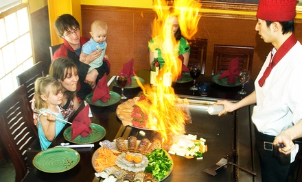 $17 for $30 Worth of Japanese Hibachi and Sushi for Two or More at Fujiyama Hibachi & Sushi
