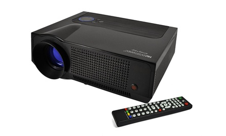 Favi Home-Theater LCD HD Projector with HD Resolution and Up to 200