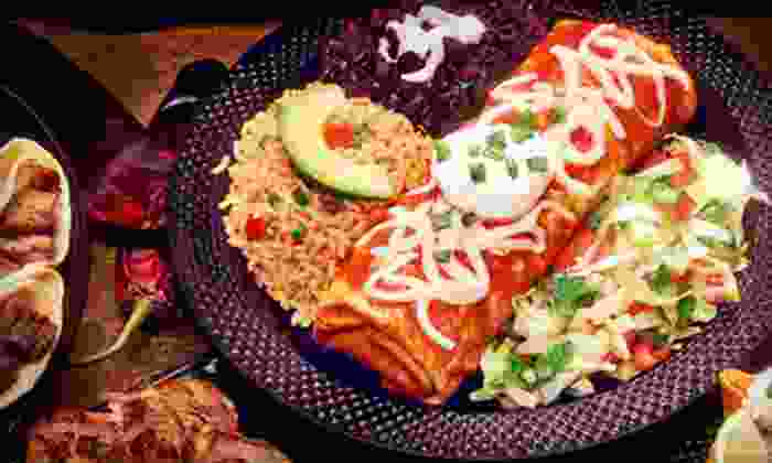 El Sombrero - Multiple Locations: $5 for $10 Worth of Mexican Food at El Sombrero