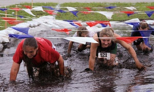 Panther Mud Grudge: Panther Mud Grudge 5K Race for One, Two, or Four on Saturday, April 25 (Up to 59% Off)