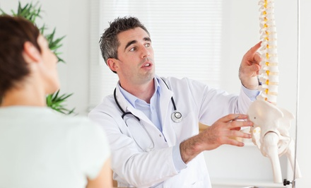 $55 for a Chiropractic Exam and Five Adjustments at Kreusel Chiropractic ($435 Value)