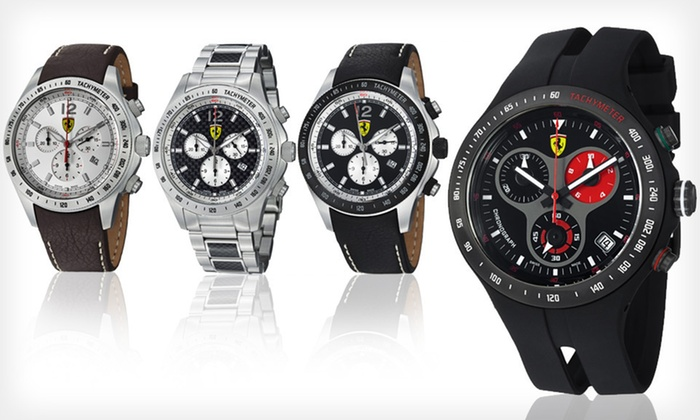 Ferrari Men's Watches: Ferrari Men's Watches (Up to 65% Off). 13 Options Available. Free Shipping and Free Returns.