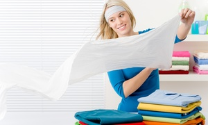 Laundry Care : One or Two Weeks of Laundry Service from Laundry Care (Up to 62% Off)