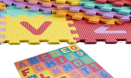Alphabetische und nummerische Puzzelmatte in der Größe M (63% sparen*)