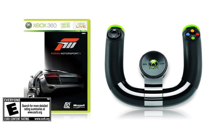 Forza Motorsport 3 and Wireless Speed Wheel for Xbox 360: Forza Motorsport 3 and Wireless Speed Wheel for Xbox 360. Free Shipping and Returns.