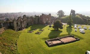 Tutbury Castle: Entry to Wonderland Weekend for Two or Four at Tutbury Castle (60% Off)