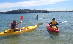 Bundeena Outdoor Adventures: $39 for Self-Guided Port Hacking Paddle and Coast Walk Experience with Bundeena Outdoor Adventures (Up to $80 Value)