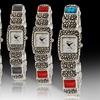 Geneva Platinum Women's Pebble Watches