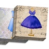 Vintage Dress Art on Gallery-Wrapped Canvas