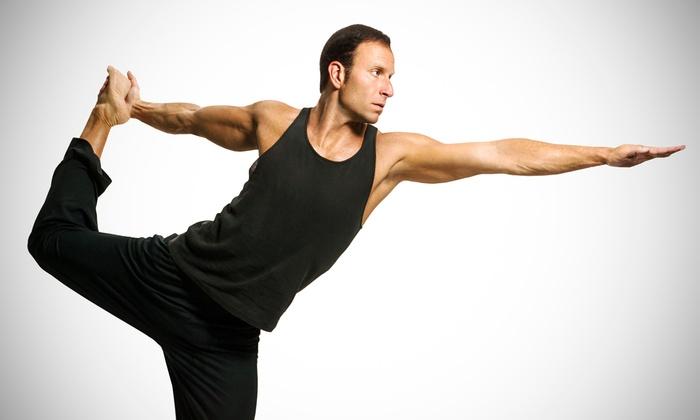 YoGuy Men's Yoga - Multiple Locations: 10 or 20 Drop-In Yoga Classes at YoGuy Men's Yoga (Up to 75% Off)