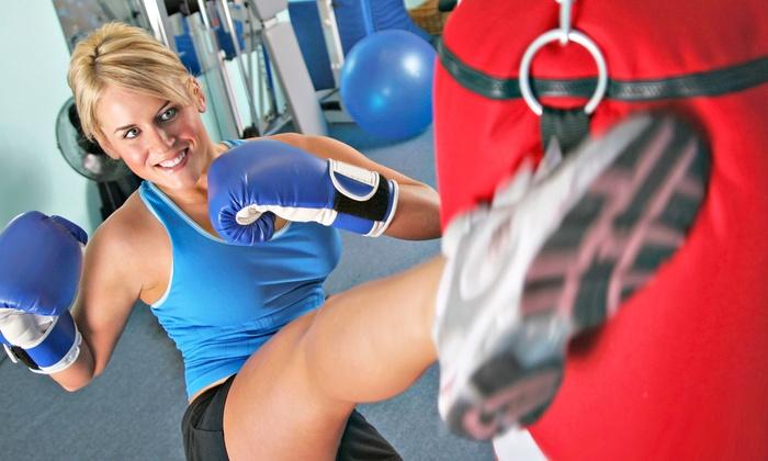 Black Belt Institute - Metuchen: 10 or 20 KickFit Boxing Classes at Black Belt Institute (Up to 68% Off)