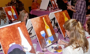Paint & Sip Studio LA: BYOB Painting Class for One or Two at Paint & Sip Studio LA (43% Off)