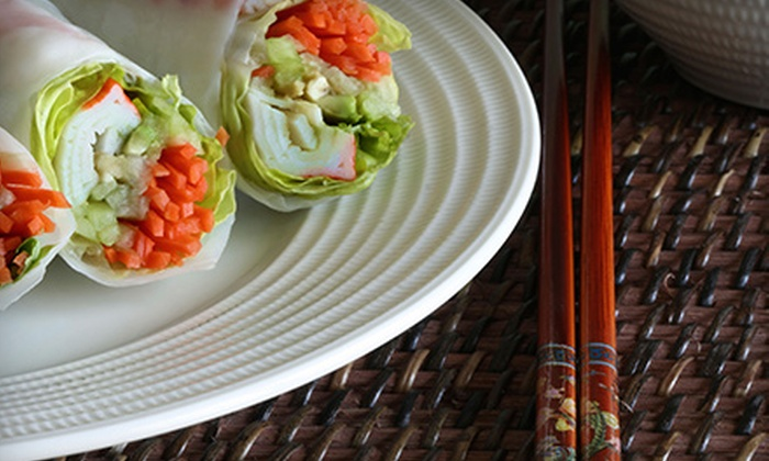 Little Saigon on 9 - Robertsville: Vietnamese Food at Little Saigon on 9 (Up to 45% Off). Four Options Available.