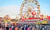 Georgia State Fair (& Universal Fairs Accounts) - Atlanta Motor Speedway: Georgia State Fair Visit for Two, Four, Six, or Eight with VIP Parking (Up to 46% Off)