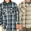 Stanley Workwear Men's Long Sleeve Flannel Shirts