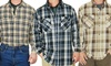 Stanley Workwear Men's Long Sleeve Flannel Shirts: Stanley Workwear Men's Long Sleeve Flannel Shirts