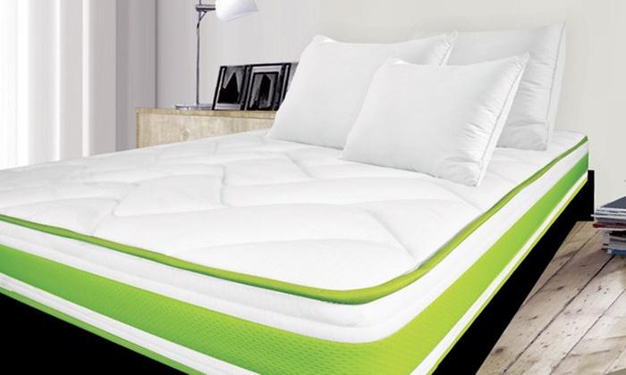 Memory Foam Matras : Memory foam matras en bedframe groupon goods