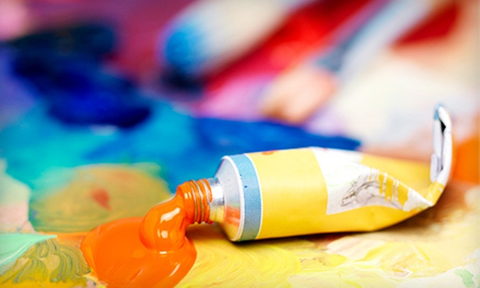 Art with a Twist - Beachwood: BYOB Art Class for One, Two, or Four at Art With a Twist (Up to 73% Off)