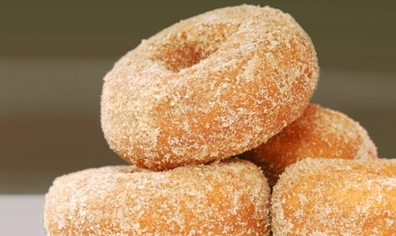 $12 for One Dozen Apple-Cider Donuts and a Half-Gallon of Pumpkin Ice Cream at Applegate Farm ($21 Value)