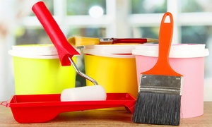 Sparklean & Painting: Two or Four Hours of Interior Room-Painting Services from Sparklean & Painting (Up to 55% Off)