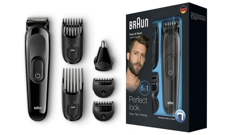 Braun MGK3020 Six in One Mens Multi Grooming Kit