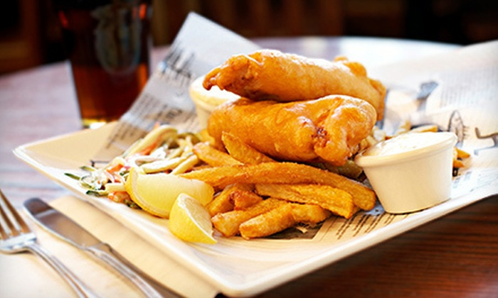 McGarvey's Wee Pub - Multiple Locations: $10 for $20 Worth of Irish Food for Two or $20 for $40 Worth of Irish Food for Four at McGarvey's Wee Pub