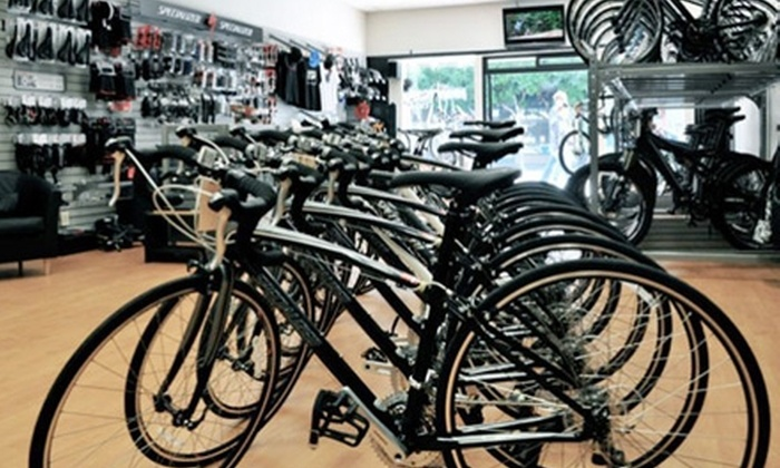 High Trails Cyclery - Nob Hill: $37 for Expert Bike Tune-Up with Adjustments, Cleaning, and Tire Inflation at High Trails Cyclery ($75 Value)
