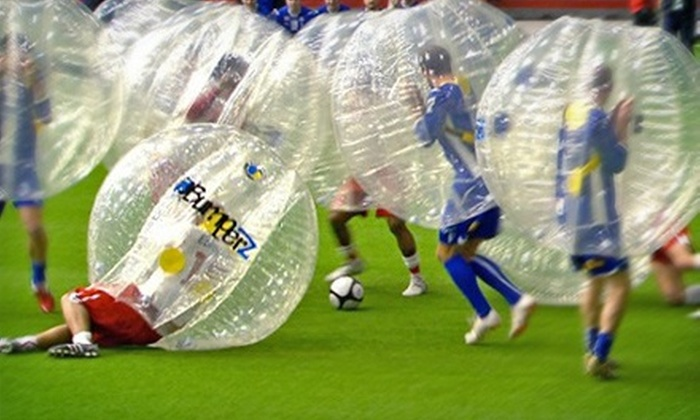 Chicago Bubble Soccer League - DePaul: Registration for One Player or One Team of Up to 15 Players for the Chicago Bubble Soccer League (Up to 51% Off).