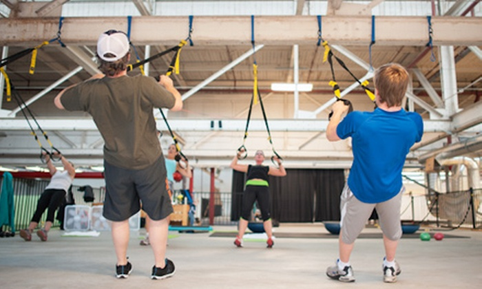 TRX TrainStation and the National Squash Academy - Clanton Park: Fitness at TRX TrainStation Packages and the National Squash Academy (Up to 71% Off). Three Options Available.