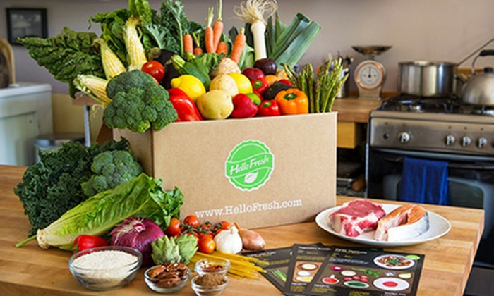 HelloFresh: Non-Vegetarian or Vegetarian Cook-at-Home Meals from HelloFresh (51% Off)